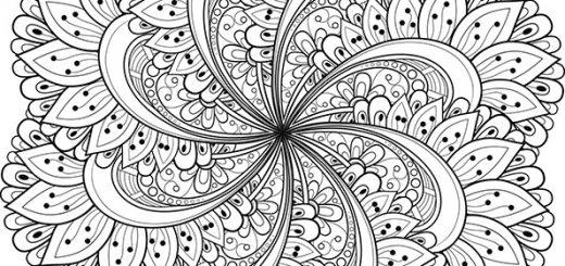 Malvorlagen Erwachsene Mandala 1