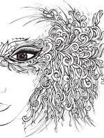 Gesicht einer Frau 1