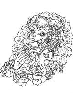 Gesicht einer Frau 3