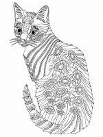Malvorlagen Erwachsene Katze Ausmalbilder Für Erwachsene