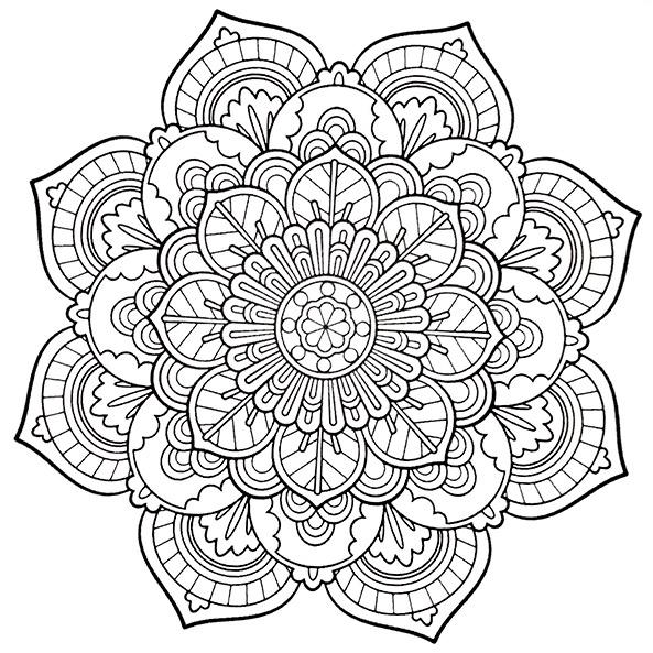 Mandala 4 Ausmalbilder Für Erwachsene