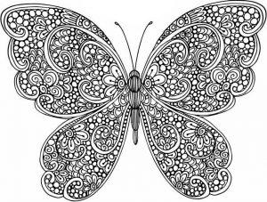 Malvorlagen Erwachsene Schmetterling 8
