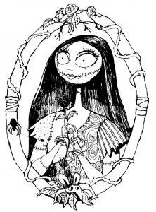 Ausmalbilder für Erwachsene Halloween, Bild 3