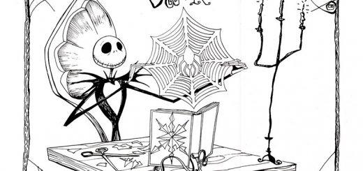 Ausmalbilder für Erwachsene Halloween, Bild 8