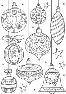 Malvorlagen Erwachsene Weihnachten, Bild 14